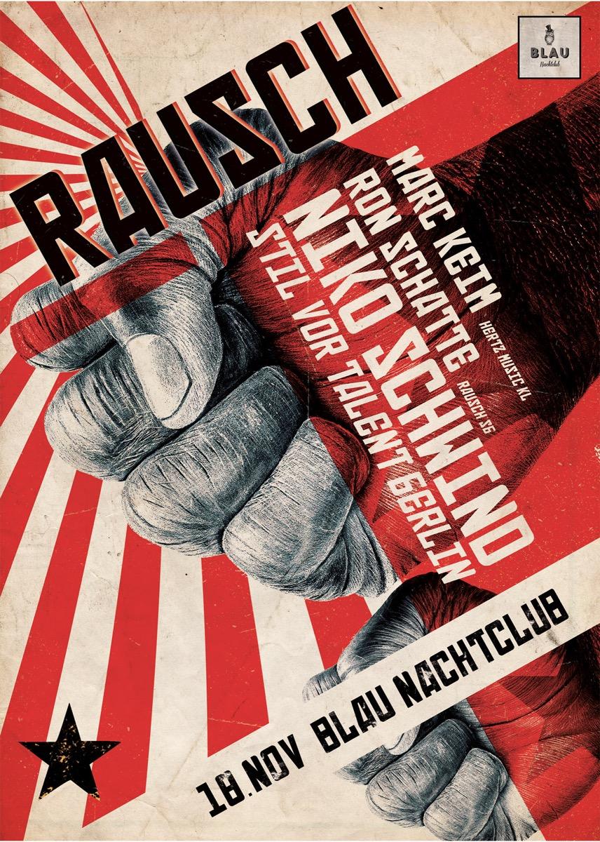 Blau Club Saarbrücken – Cuvee Creative – Plakat 4